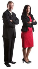 Crown Solicitor, Greg Cooper and Executive Director and Executive Director, Susan Mackie