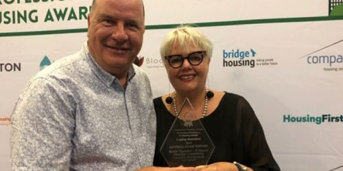 National Award Winner: Better Together – A Shared Housing Community Project